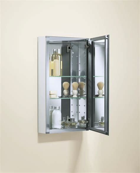 kohler bathroom mirror cabinet kohler k cb clc1526fs single door 15 inch by 26 inch by 5