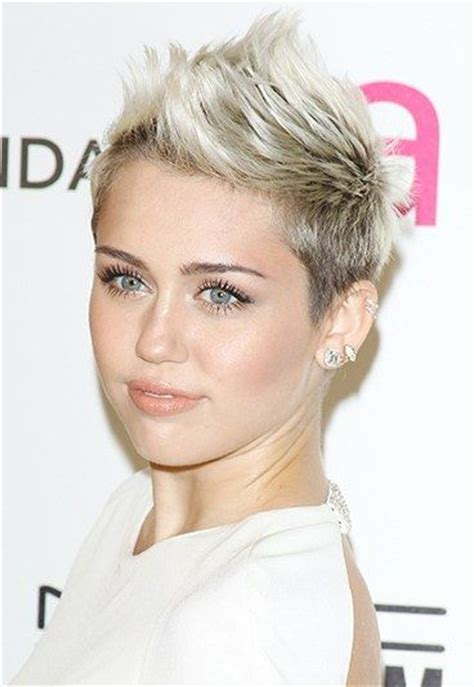 whats miley cyrus pixie cut called best 25 women s faux hawk ideas on pinterest braided