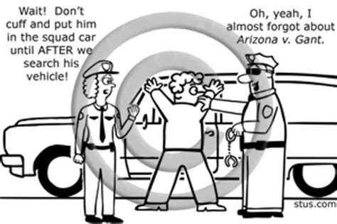 Search Incident To Arrest Scope Of Vehicle Search Incident To Arrest Image Illustration Picture