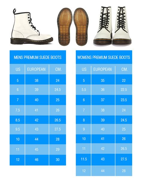 sneaker size chart sizing sock and shoe