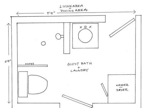 bathroom and laundry room floor plans small laundry bathroom combo designs tiny house blog