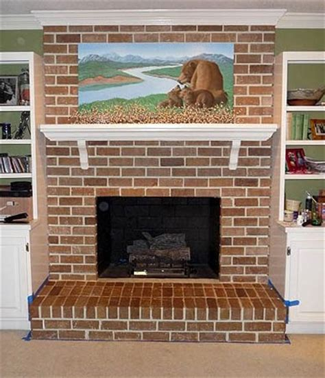 correct order to paint a room how to paint brick fireplace brick anew