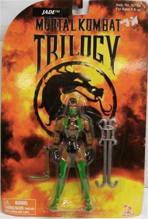 Mortal 13cm mortal kombat trilogy jade figurine 13cm island