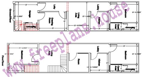 75 sqm to sqft 16 215 65 feet 1040 square feet 96 62 square meters house plan