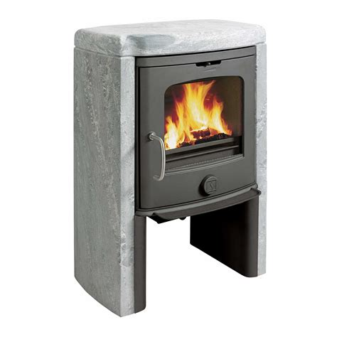 Soapstone Stove by Scan 4 5 Multi Fuel Wood Burning Soapstone