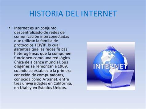 breve historia de internet youtube la historia de internet historia del internet