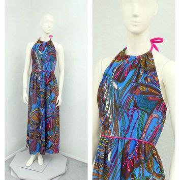 Maxi Hawa Pink shop hawaiian halter dress on wanelo