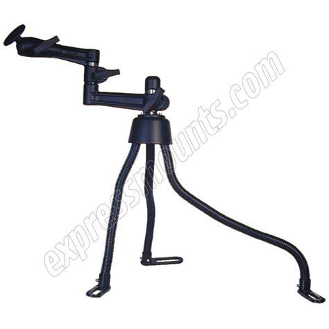 swing arm l base ram mount ram pod iii base with double swing arm