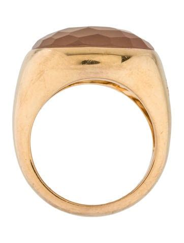 Pomellato Cipria Pomellato Cipria Quartz Ring Rings Pom20361 The