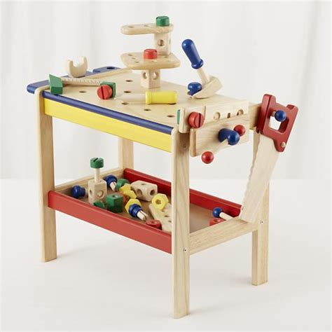 wooden tool bench for toddlers kids imaginary play kids toy workbench tools the