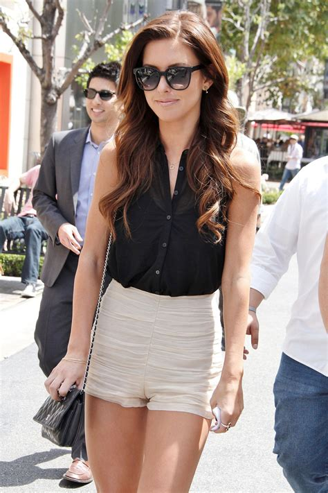 Audrina Patridge Gets A New by Audrina Patridge On Tte Set Of At The Grove In Los