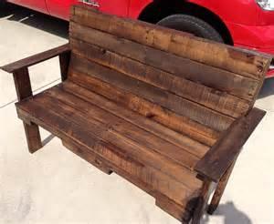 pallet bench outdoor pallet bench for garden 101 pallets
