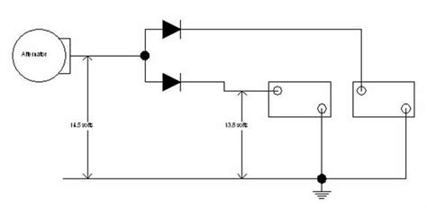 backfeed protection diode trouble with cs130d not charging after hooking up isolator help page 2 expedition