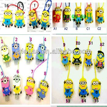 Cheap Hand Sanitizer Giveaways - cheap hot promotional items oem minions silicone hand sanitizer holder buy cheap