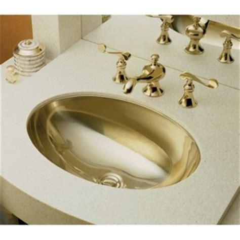 K2602 MF Rhythm Undermount Style Bathroom Sink   Mirror French Gold at Shop.Ferguson.com