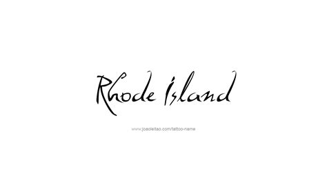 rhode island tattoo rhode island usa state name designs tattoos with