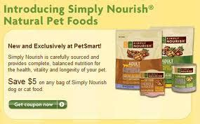 simply nourish food coupons petsmart printable coupon for 5 june july 2011 cat food dealsdango real