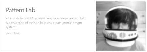 pattern lab brad frost 珍しいワークフロー atomic designの原則とsketchでデザインからプログラミングまで postd