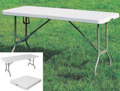 tavoli da giardino pieghevoli in plastica tavolo da esterno piano gambe pieghevoli per catering