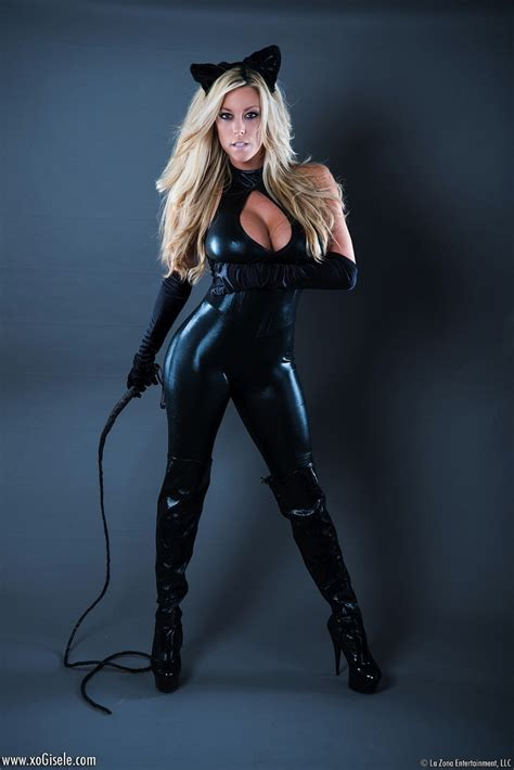 libro kinky super beauties busty giselle in catsuit halloween costume busty update
