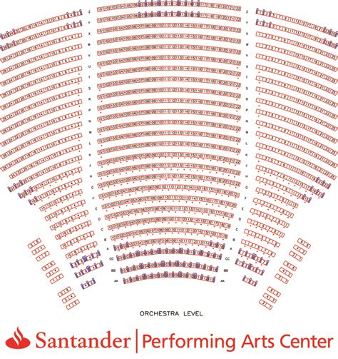 spac seating chart with numbers seating charts santander arena santander performing