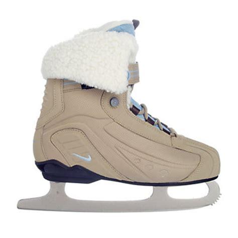 comfortable ice skates nike comfort boot girls figure ice skates