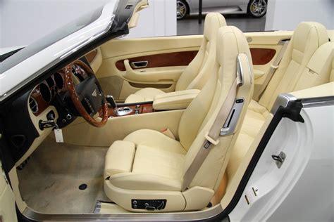 used bentley interior 2007 bentley continental gtc magnolia interior stock