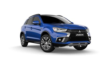 mitsubishi suv blue mitsubishi asx compact small suv built for the city