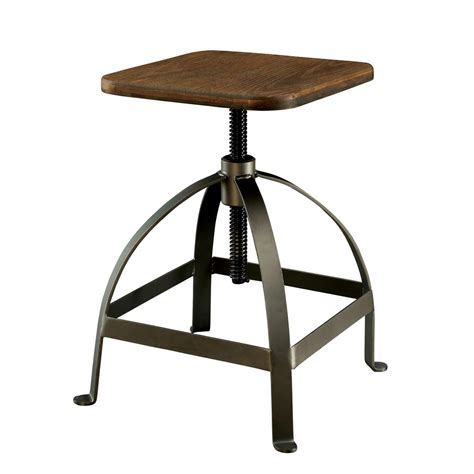 modern industrial bar stools modern rustic industrial adjustable bar stool counter