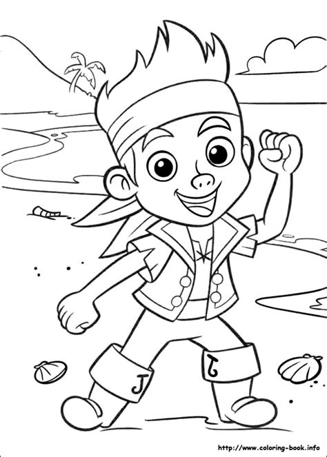 Jake And The Never Land Pirates Coloring Picture Jake And The Neverland Coloring Pages Printable