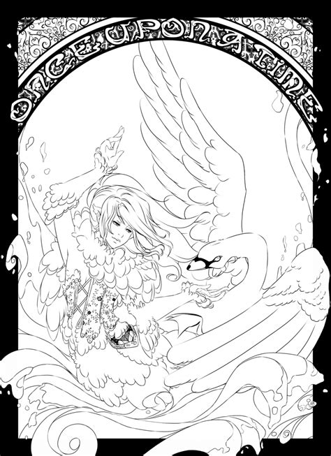 swan princess coloring pages free the swan princess coloring page az coloring pages