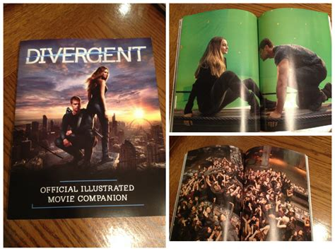 0007555407 the divergent official illustrated movie divergent giveaway comic con tips