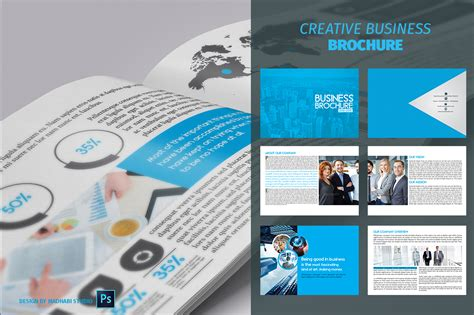 12 page brochure template 12 pages business brochure brochure templates on