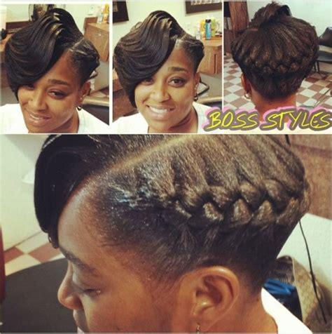 1 crown goddess braids ridges with a goddess braid interesting style shared by