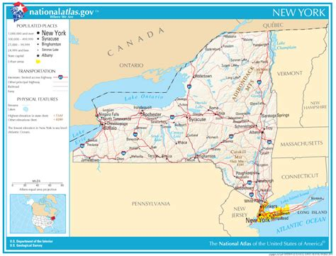 state road maps new york state maps interactive new york state road maps