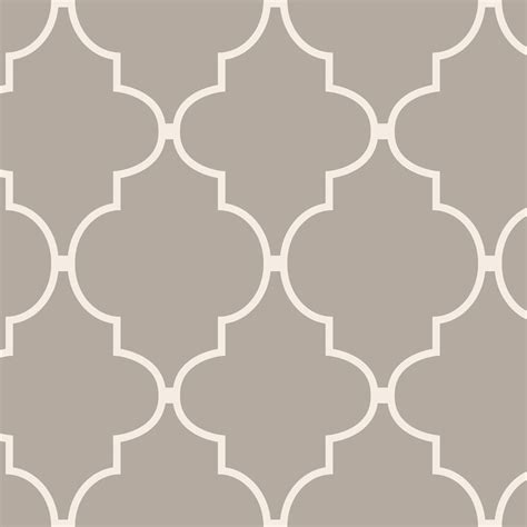 shop allen roth taupe vinyl geometric wallpaper at lowes