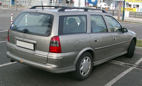 opel vectra b 2000 file opel vectra kombi rear 20080108 jpg wikipedia