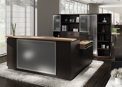 furniture reception desk global office furniture modern reception desk