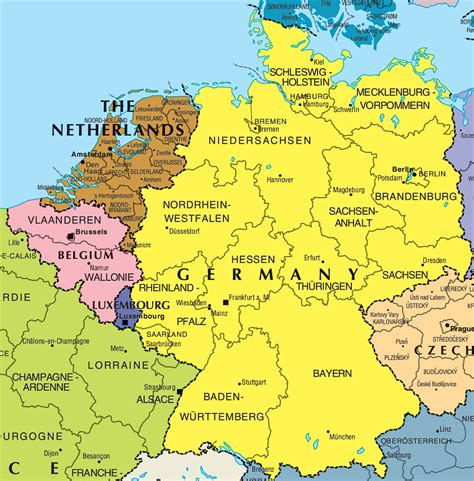 map of europe belgium brussels city map