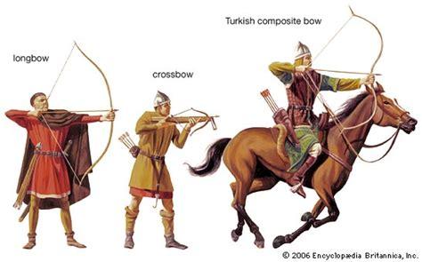 longbowman vs crossbowman hundred archery britannica com