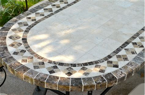 """71"""" 94"""" Oval Outdoor Stone Patio Dining Table Marble"""