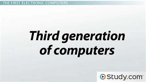 Resume Examples Teacher by History Of Computers Timeline Amp Evolution Video