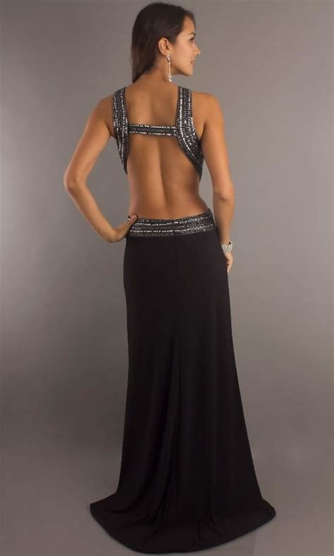 Backless Gown backless gown dressed up