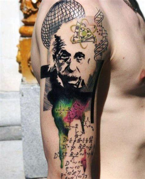 albert einstein tattoo 50 albert einstein designs for theoretical