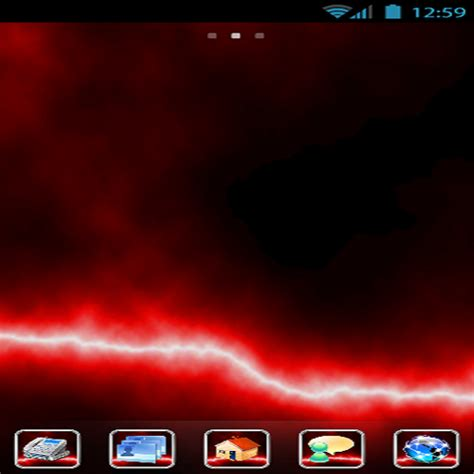 themes for android red amazon com elektro theme red appstore for android