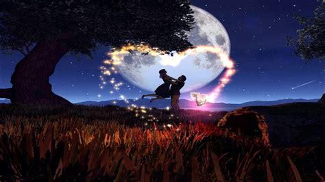 imagenes de amor 3d full moon 4 november 2017 magic and romance youtube