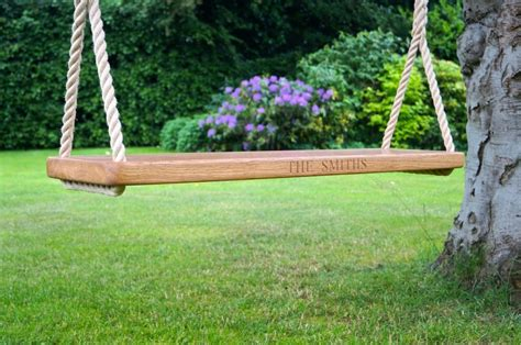 how to make a good rope swing oak swings and benches for the garden make me something