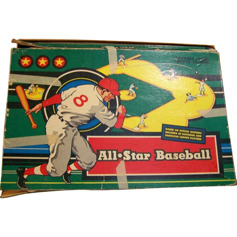 bedroom baseball board game all star baseball board game 1953 cadaco ellis classic from wings on ruby lane