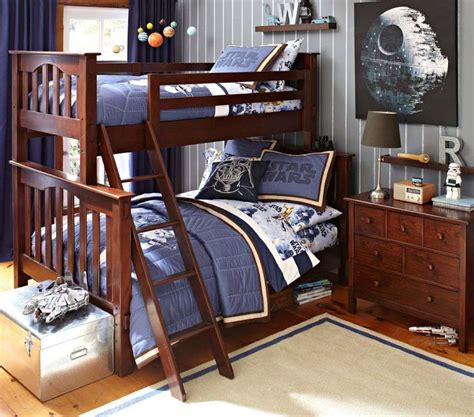 boys themenzimmer kendall bunk bed simply white