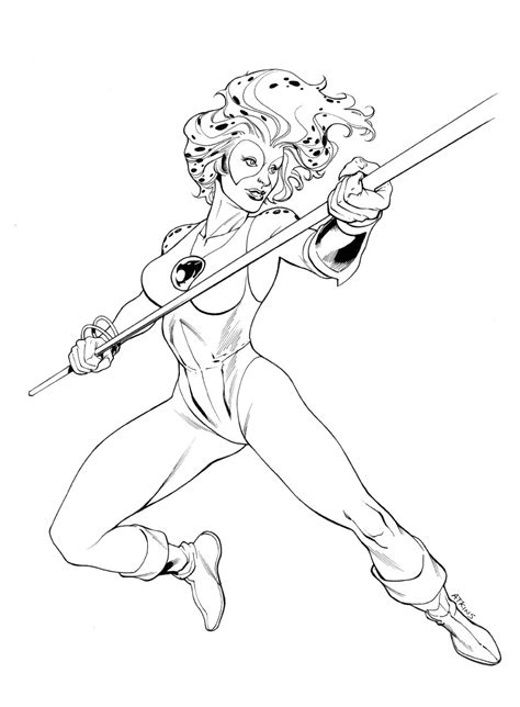 thundercats coloring pages robert atkins art july 2011